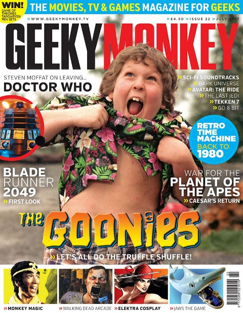 Geeky Monkey // Back Issue