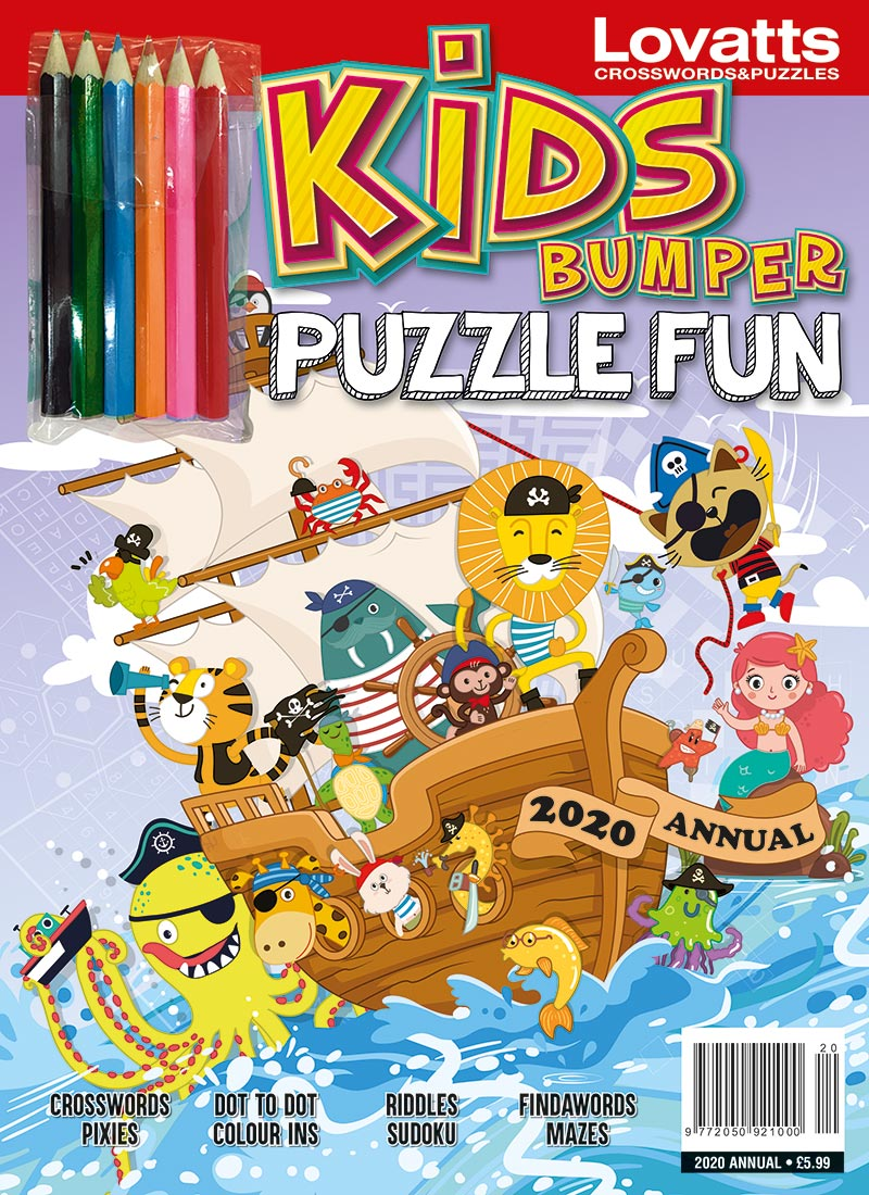 Kids Bumper Puzzle Fun // £7.25
