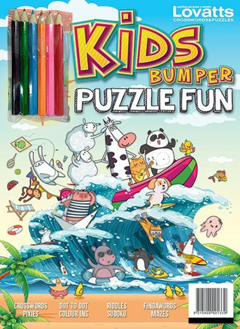 Kids Bumper Puzzle Fun 2021 // Issue 21