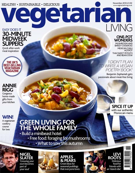Vegetarian Living // Issue 3