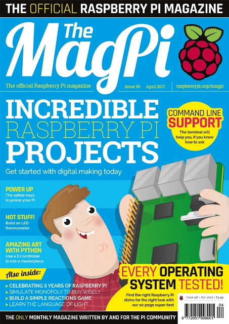 The MagPi Magazine // Issue 56