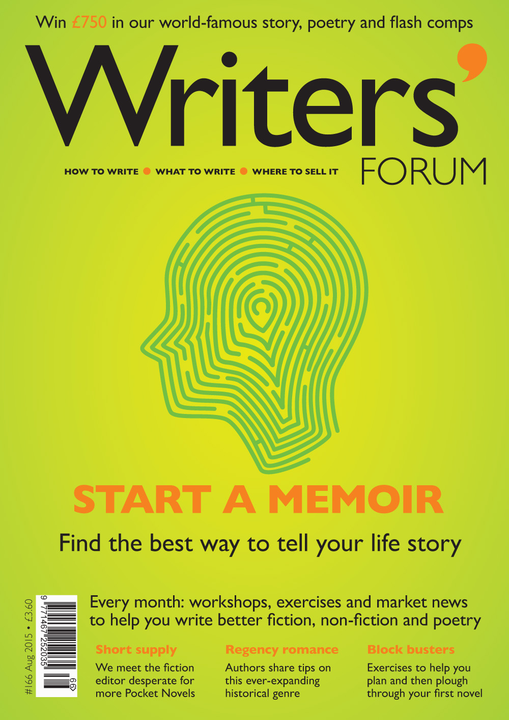 Writers' Forum // Issue 166
