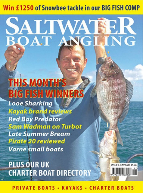 Saltwater Boat Angling // Issue 6