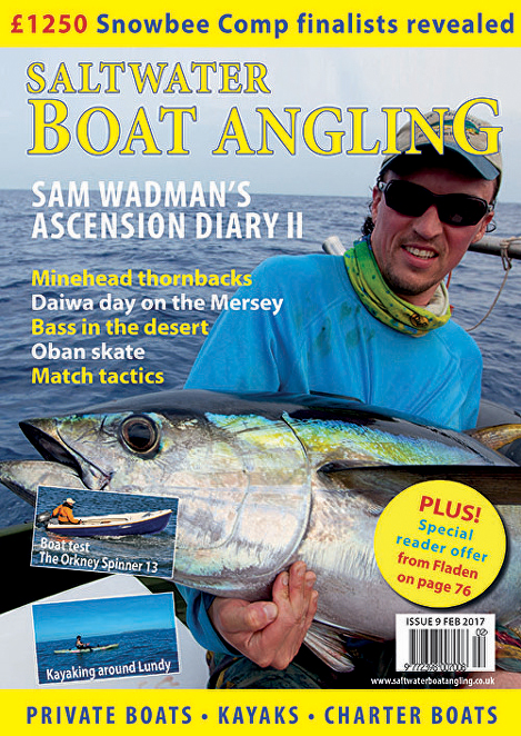 Saltwater Boat Angling // Issue 9