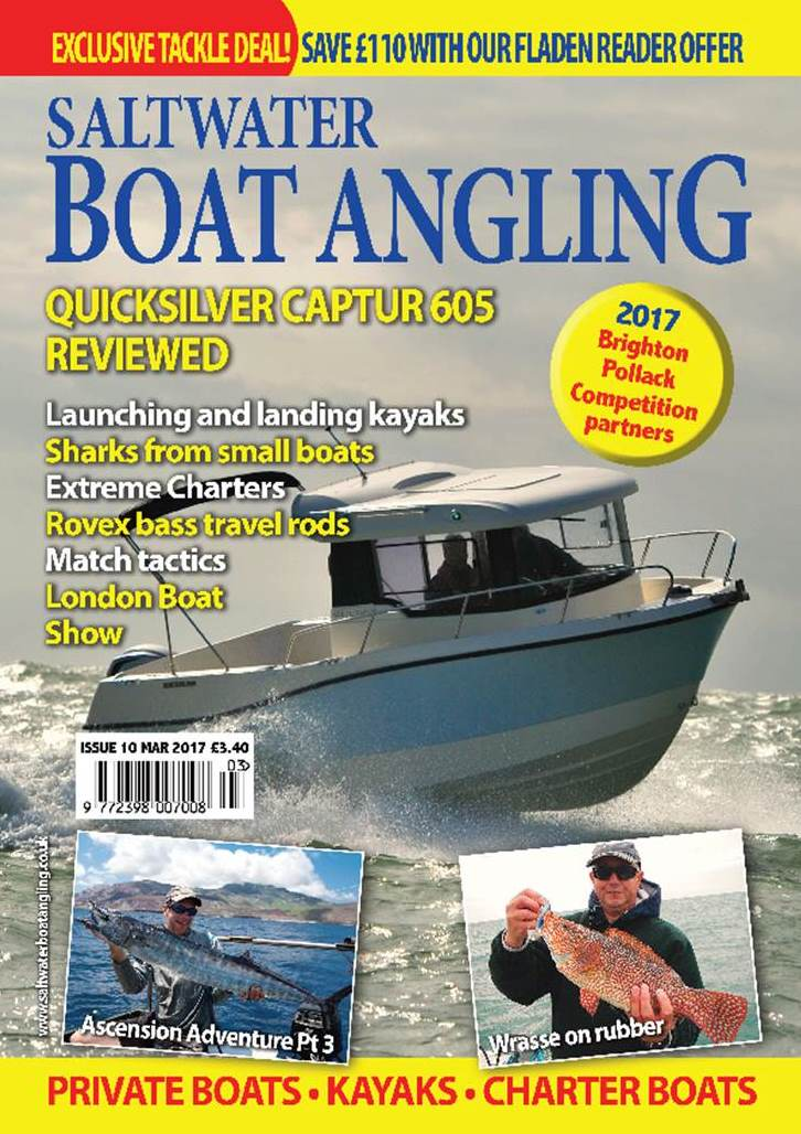 Saltwater Boat Angling // Issue 10