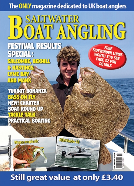 Saltwater Boat Angling // Issue 18