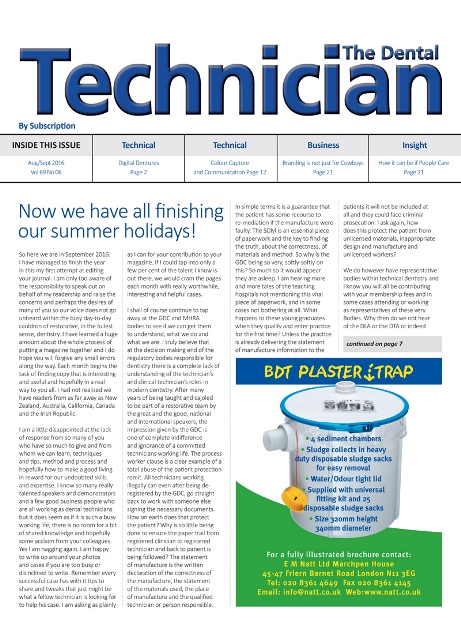 Dental Technician // Issue 6
