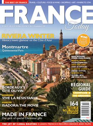 France Today // Issue 21 Oct/Nov 2016
