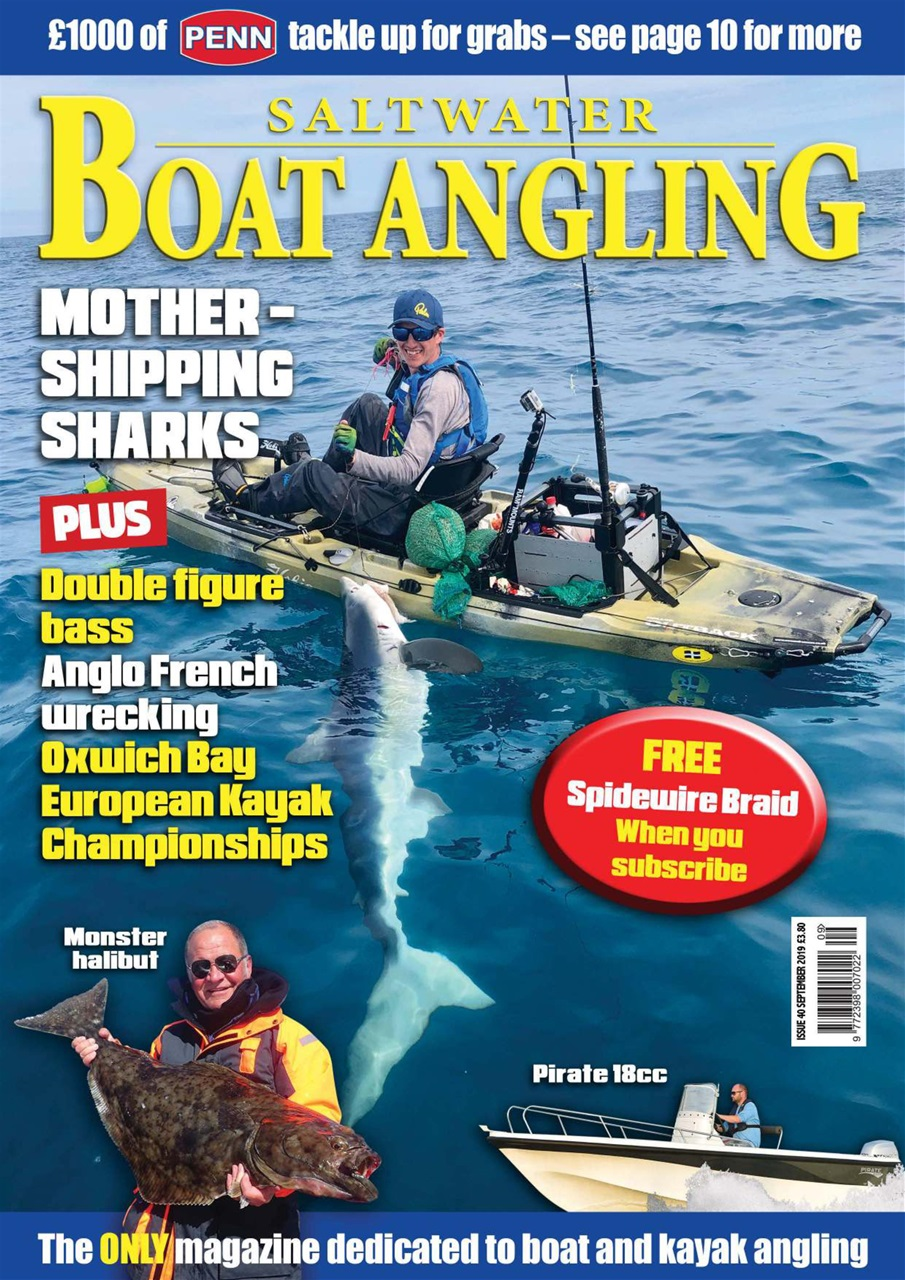 Saltwater Boat Angling // Issue 40