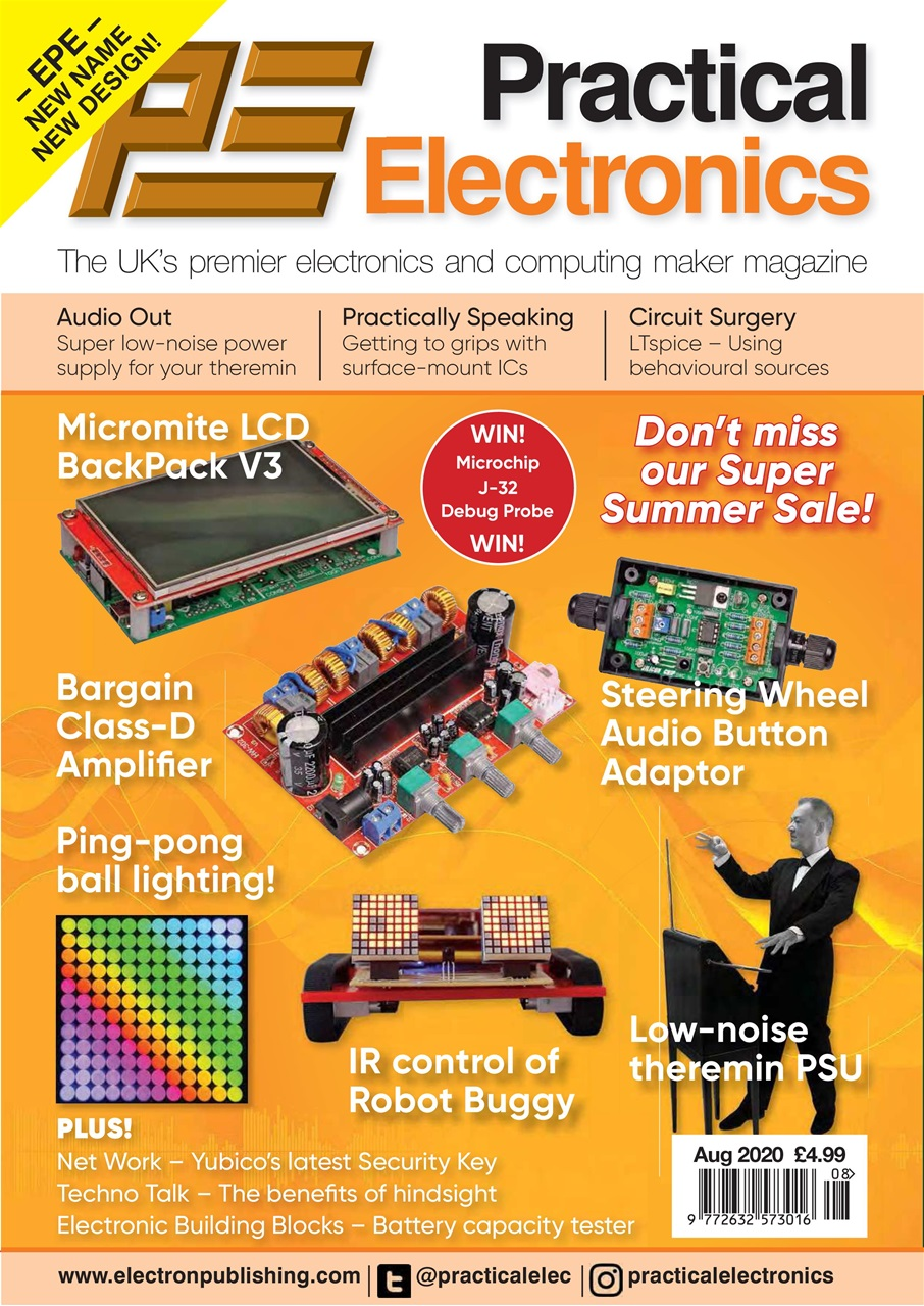 Practical Electronics // Issue 128